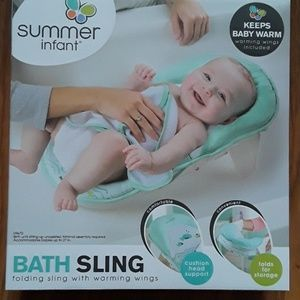 Baby bath sling